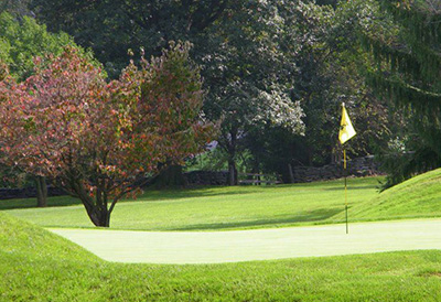The Lebanon Country Club golf course
